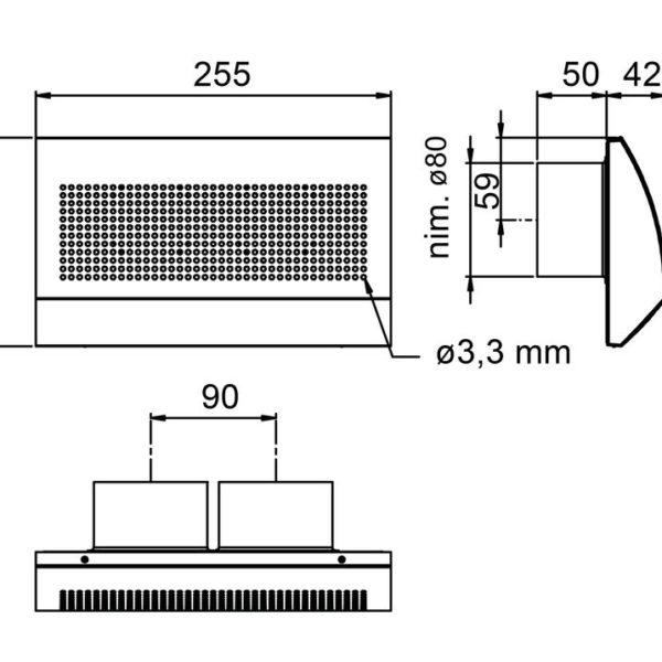 TINO-D (Соединение 2х75 мм) VALLOX